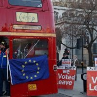 UK lawmakers vying to put their stamp on Brexit