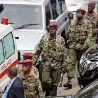 Kenyan president says 14 victims dead at hotel complex; gunmen killed