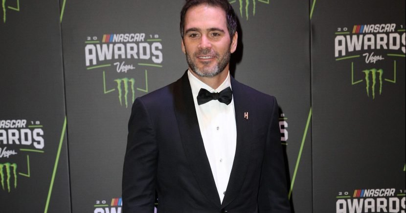 See Jimmie Johnson's 2019 paint scheme with his new sponsor