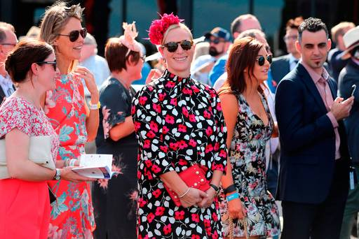 Zara Tindall makes a case for best dressed royal in floral mini-dress at races in Australia