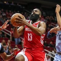 James Harden, the N.B.A.'s One-Man Band, Hits a High Note