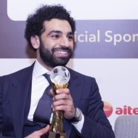 Egypt's Salah wins African Footballer of the Year prize