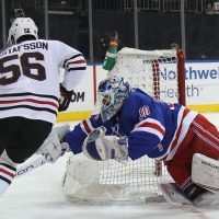 Henrik Lundqvist Moves Up Wins List as Rangers Top Blackhawks