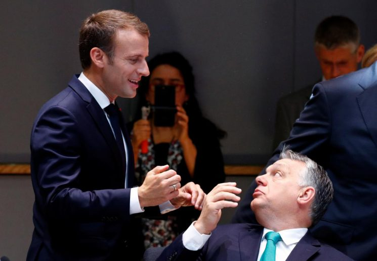 Hungary PM Orban: I must fight French President Macron on immigration