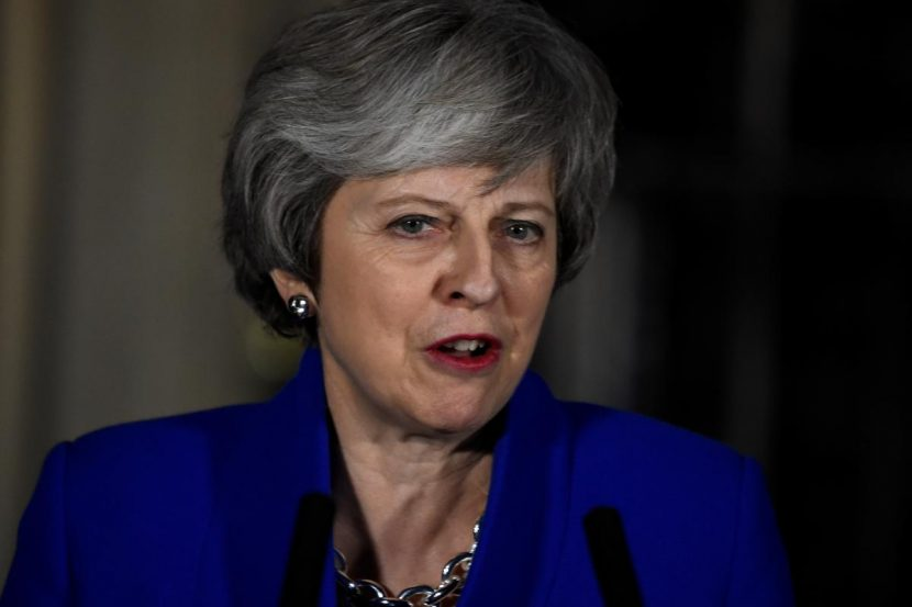 British PM May says door open to Labour to join Brexit talks