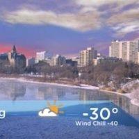 Saskatoon weather outlook: -40 wind chills ahead