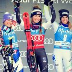 Skier Marta Bassino wins bronze at World Cup event in Giant of Kronplatz