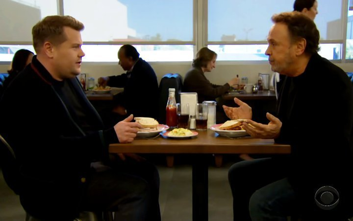 Watch: Billy Crystal and James Corden Give New Spin to Iconic 'When Harry Met Sally' Scene