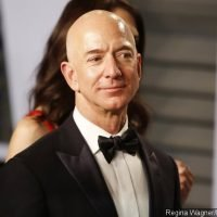 Where's Lauren Sanchez? Jeff Bezos Attends Oscars After-Party With Another Woman