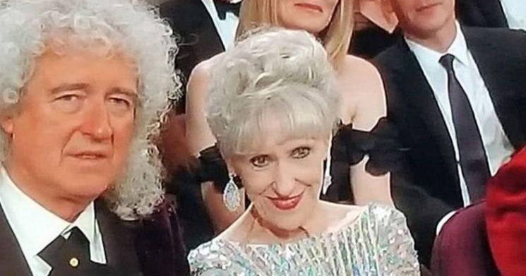 EastEnders star Anita Dobson makes surprise Oscars appearance