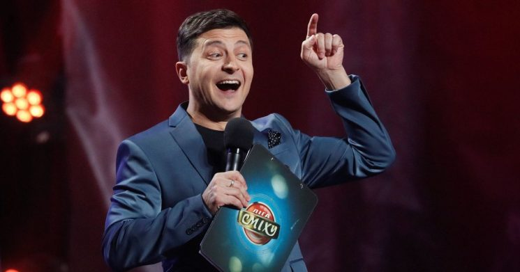 Comedian favourite to become president of Ukraine after wowing in the role on TV