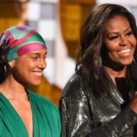 Michelle Obama's Mom Reminds Her She Is Not a 'Real' Celeb