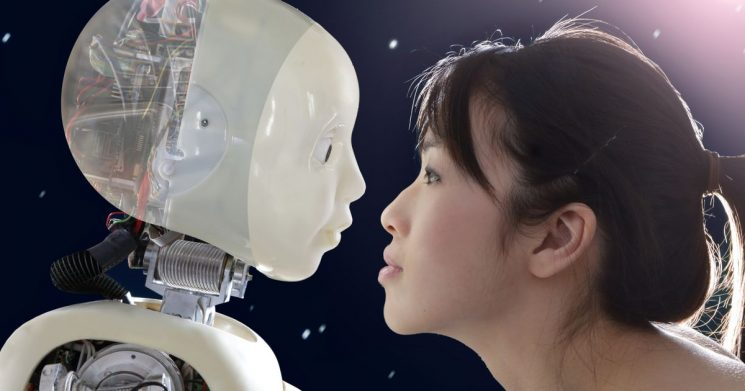 Bizarre 'robot marriage-hunting parties' let singletons flirt through robots