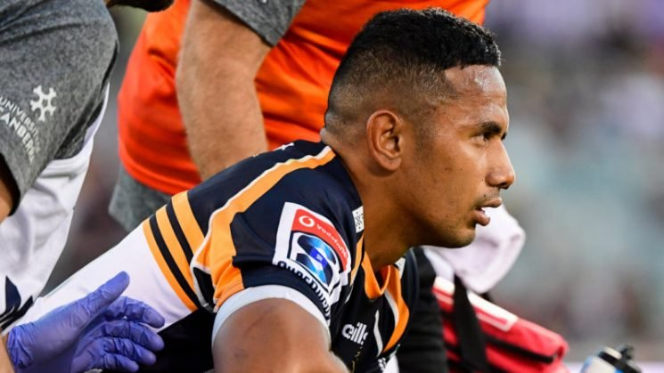 Pulu set for surgery to repair nasty facial fracture in Brumbies debut