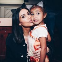 Kim Kardashian's New Photo Of North Proves She Can Nap Anywhere, Just Like Her Dad