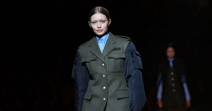 Prada Fall Delivers Big on Our Favorite Things