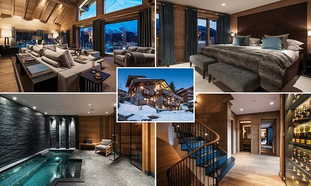 Is this the best new ski chalet in the Alps?