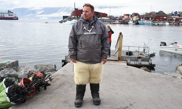 Danish man reveals why he moved to a remote island off Greenland