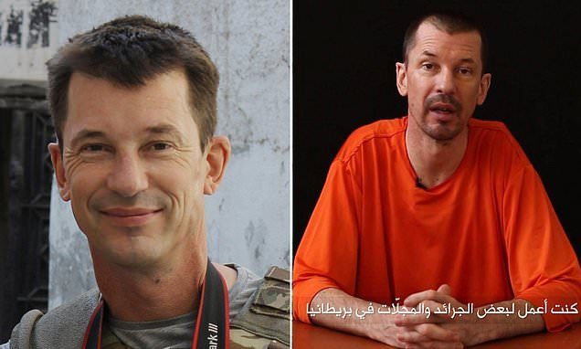 John Cantlie 'used by ISIS leaders to be traded for their freedom'
