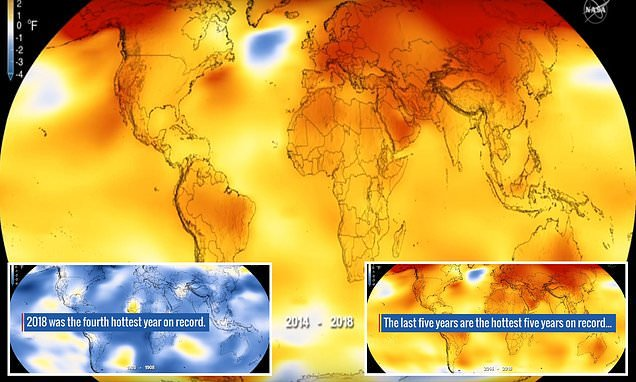 Earth just experienced one of the hottest years on record