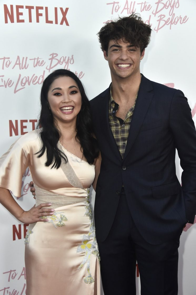 Lana Condor & Noah Centineo Had A 'To All The Boys…' Reunion At An Oscars After Party