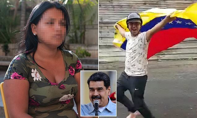 Family anguish as Maduro protester is gunned down by Venezuelan police