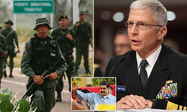 Venezuela's soldiers 'starving, like the population', US admiral says