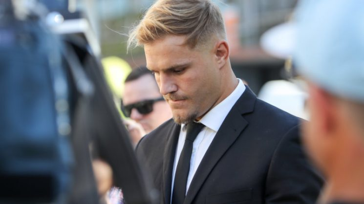 NRL players should stand down if accused of serious crimes: Lumby
