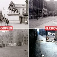 Photos reveal what life was like in Glasgow and Edinburgh 60 years ago
