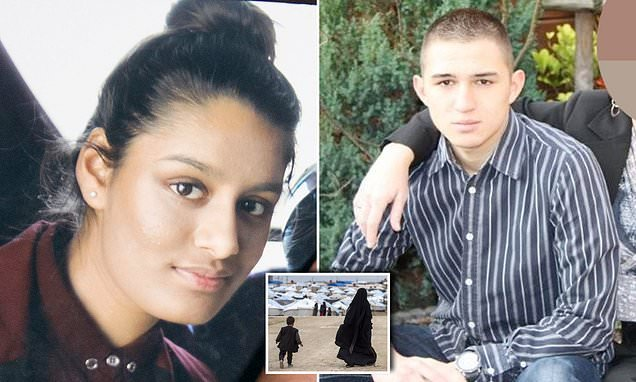 ISIS bride Shamima Begum taken to hospital with contractions