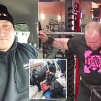 Hero weightlifter, 29, moves TWO-TON SUV to help rescue pinned driver