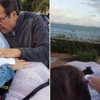 Grandmother's dying wish to watch sunset by the ocean with her family