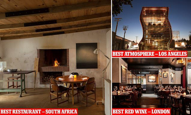 Beach restaurant in South Africa called Wolfgat named as world's best