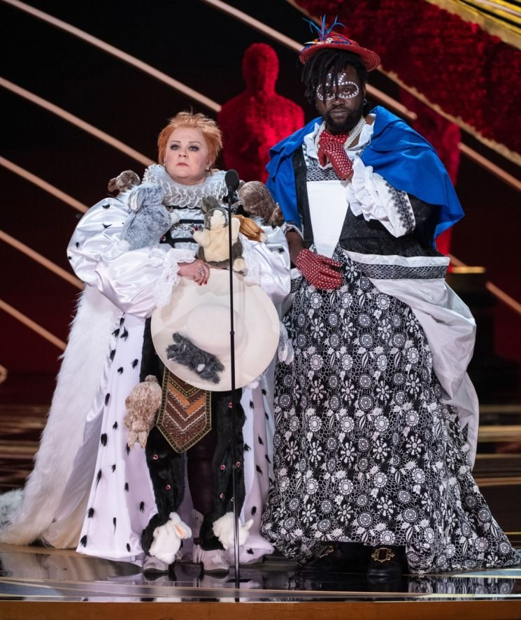 Was Melissa McCarthy & Brian Tyree Henry's Oscar-costuming bit offensive?