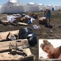 Hailey Baldwin reveals she donated 'generous' Fyre Festival fee to charity after disastrous event that sparked Netflix documentary