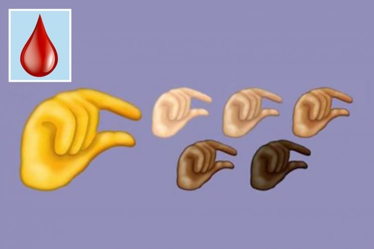 What are the new emojis for 2019 and how did the period emoji come about?