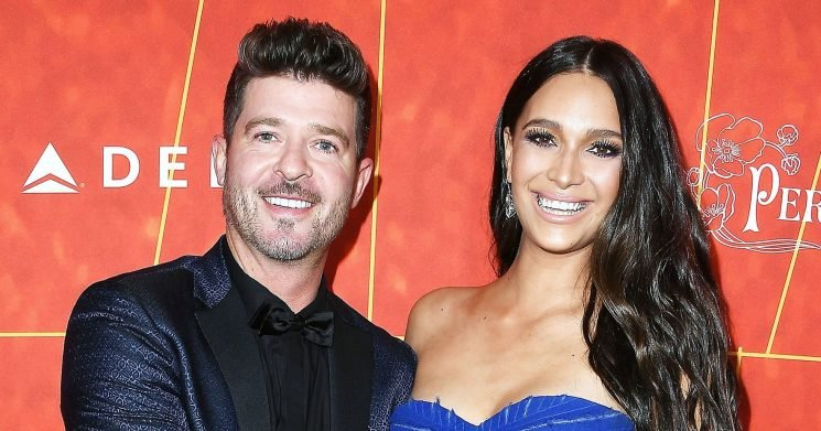April Love Geary and Robin Thicke Welcome Baby No. 2