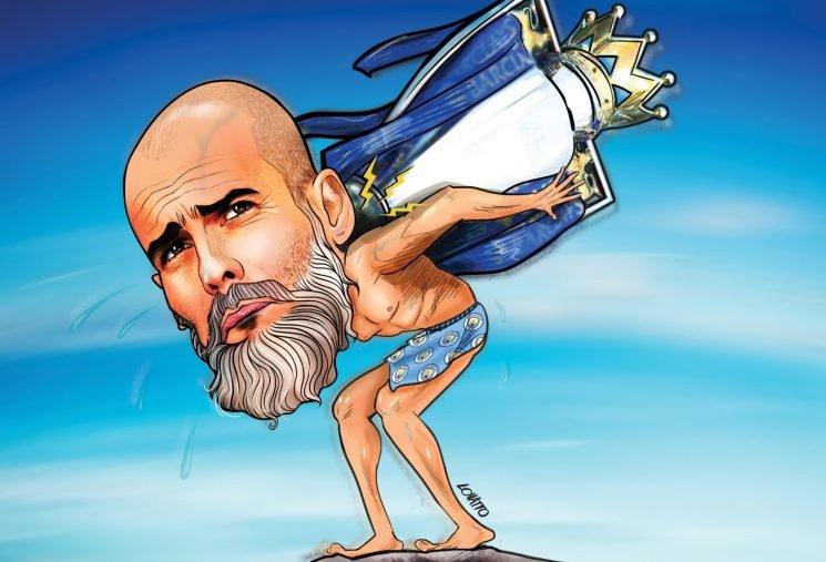 Guardiola struggles to show he's better than Pellegrini as Man City's Premier League title proves to be a heavy burden