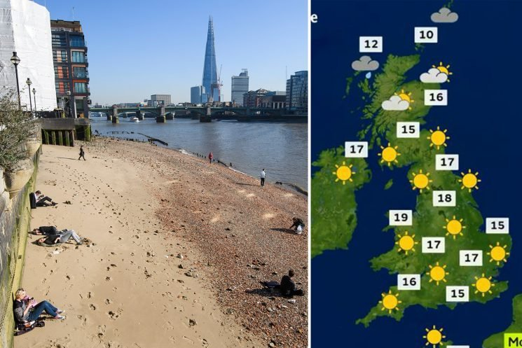 UK weather – Hottest February EVER continues tomorrow as Brits basks in 20C scorcher – but rain will return with a bang on Thursday