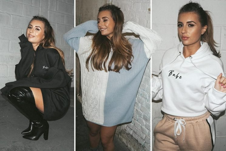 Dani Dyer unveils new cosy casual wear collection for In The Style with prices starting at just £12 – and it's expected to be another sell-out