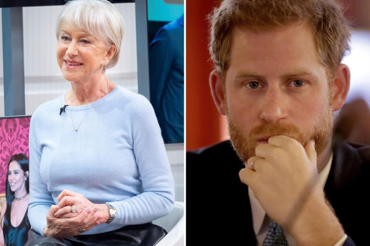 Dame Helen Mirren reveals Prince Harry cheekily called her 'Granny' after she played the Queen