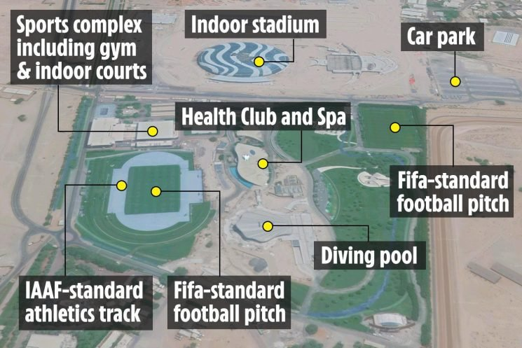 Inside the NAS Sports Complex in Dubai where Man Utd went for January sun and Dele Alli is working on recovery