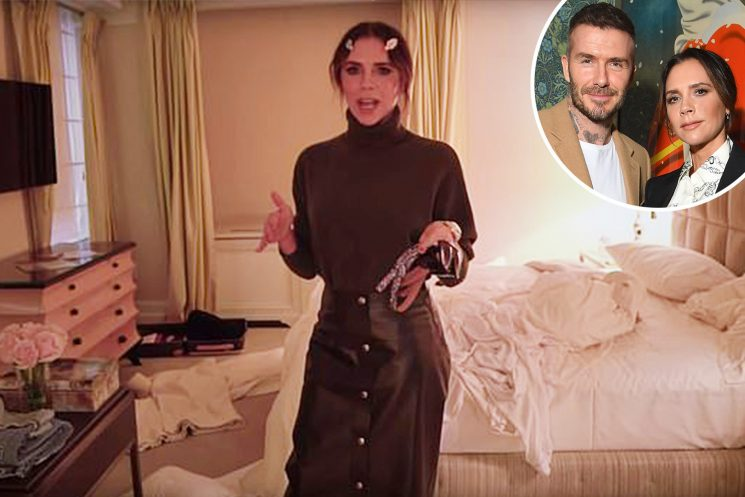 Messy Victoria Beckham admits she drives David 'crazy' and that her OCD husband can have 'full-on panic attacks' in candid video about hectic life