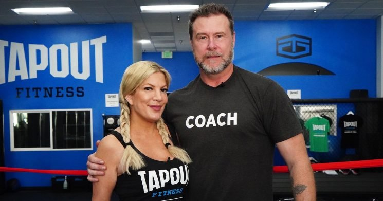 Tori Spelling's Hubby to Start Couples Boxing Class to 'Work Out Aggression'