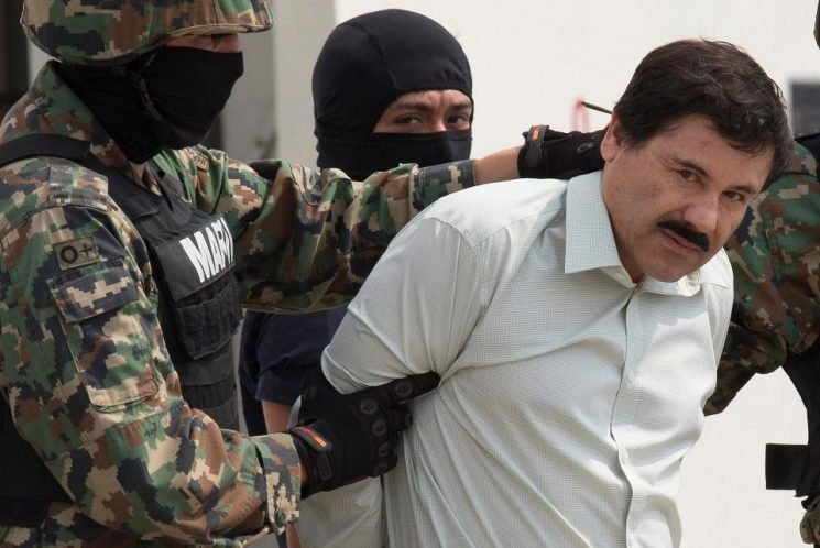 Why was El Chapo tried in New York and what crimes is he accused of?