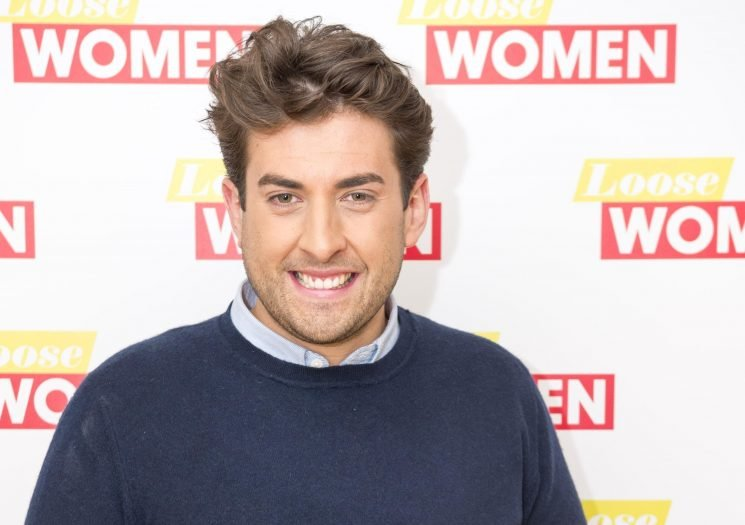 When was James Argent in rehab and what has he said about losing weight?