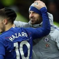 Fabregas believes Hazard is staying at Chelsea after Belgian's announcement that he's decided his future amid Real Madrid interest