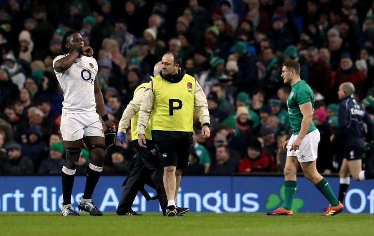 Why isn't Maro Itoje playing for England against France in the Six Nations?