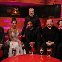Who's on The Graham Norton Show this week? Ricky Gervais, Patrick Stewart, Chiwetel Ejiofor, Regina King, Jack Savoretti