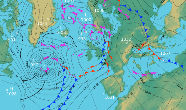 Monday's UK weather forecast — Brits set for a wet and cloudy start to the week